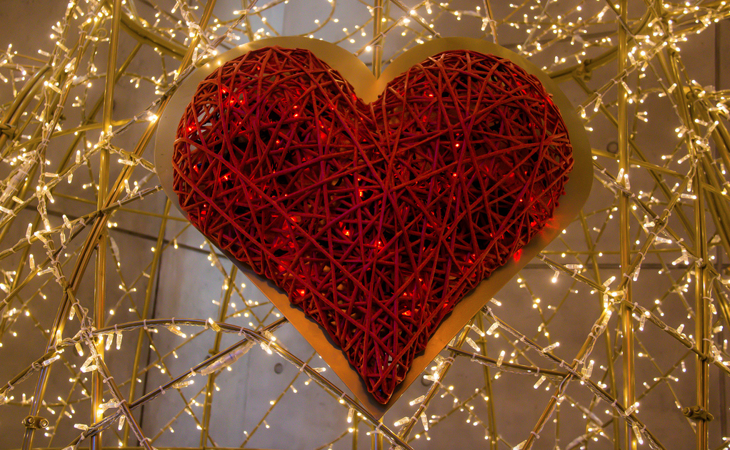 Old School Valentine's Date Night