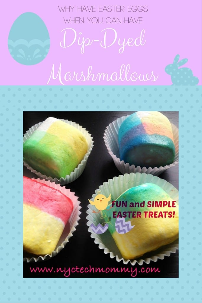 Why Have Easter Eggs When You Can Have Dip Dyed Marshmallow Treats