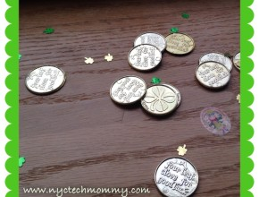 Celebrate St. Patrick's Day with Kids - Gold coins left behind by the leprechaun