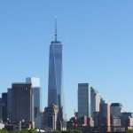 Amazing downtown NYC view from Hudson River Park Pier 51 - Great place for kids to play in NYC