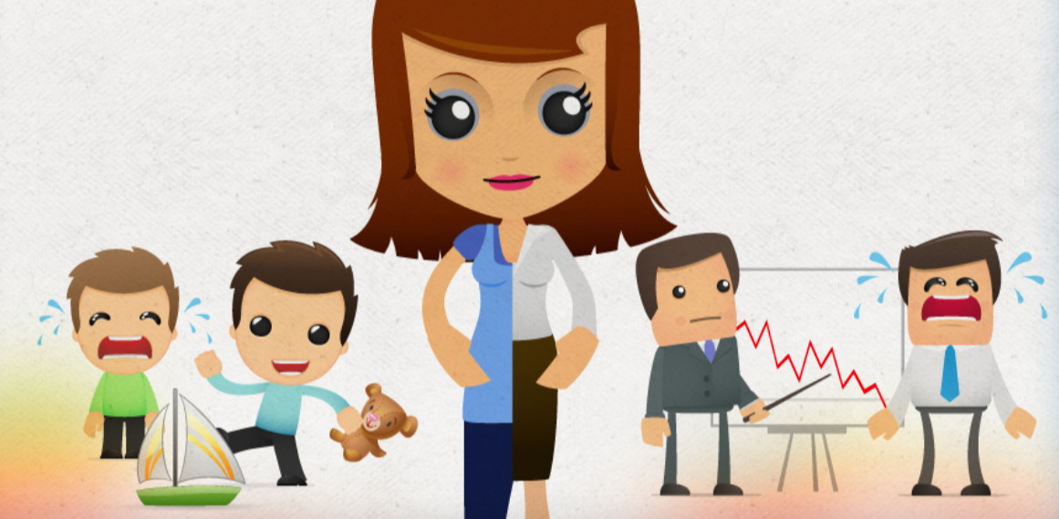 How do you find Mom Balance? What its like to be a working mom - FREE infographic