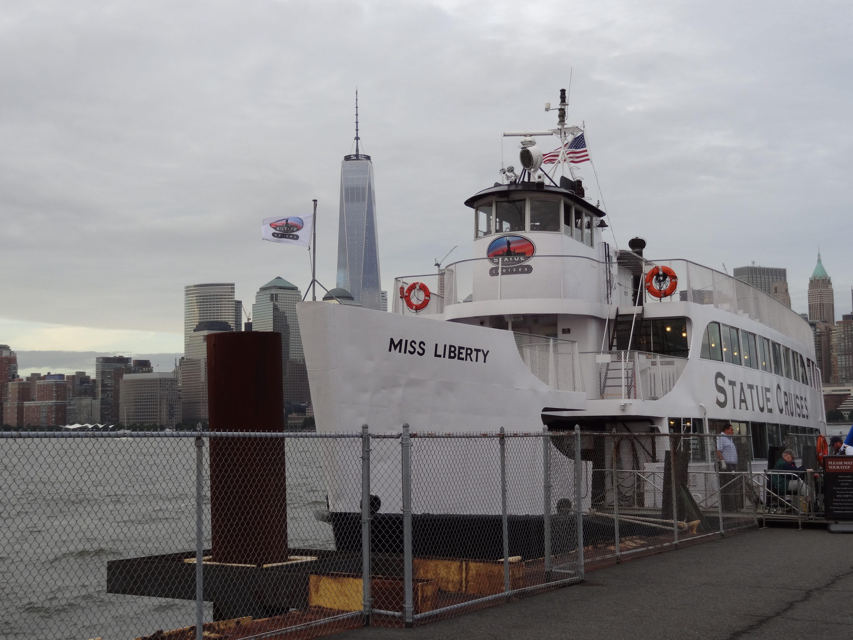 Miss Liberty Ferry at Ellis Island