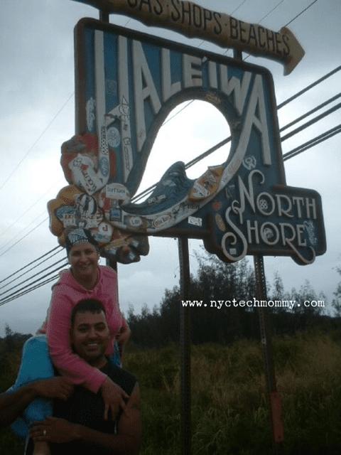 In 2005 we took our dream trip to Oahu,  Hawaii