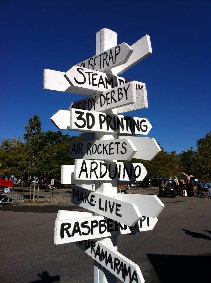 You Won't Believe What I Saw at Maker Faire...