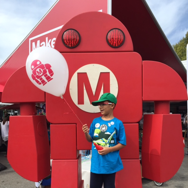 Everyone is a Maker at Maker Faire - Learn all about the #Maker movement and check out all the fun we had at Maker Faire. STEM, Robotics, Arts, Crafts and so much more! Find an event near you - click the link - http://wp.me/p5Jjr7-ov