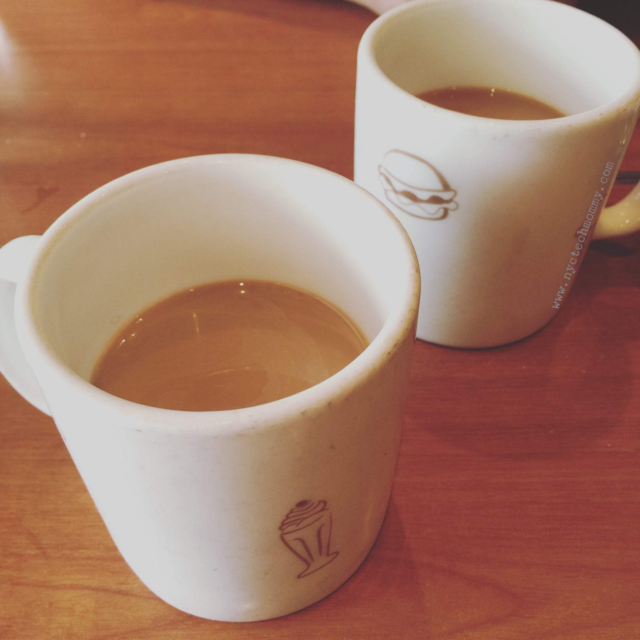 We stopped at Friendly's for a cozy little coffee break. I always need coffee!