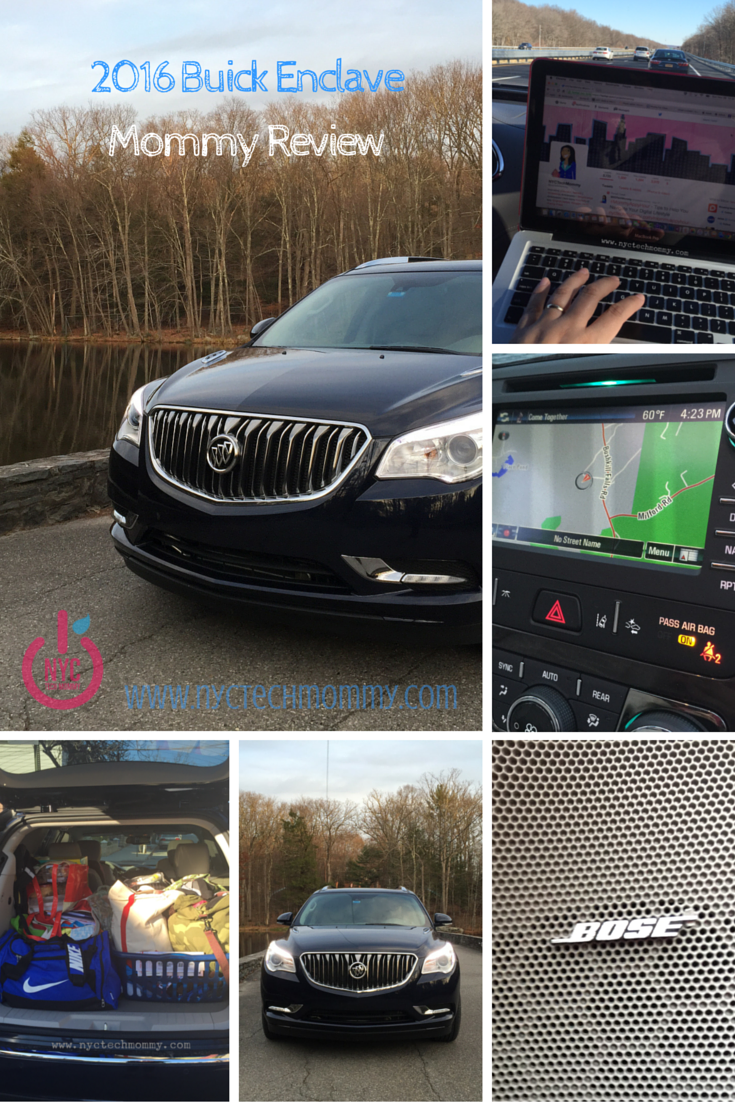 2016 Buick Enclave Review Nyc Tech Mommy