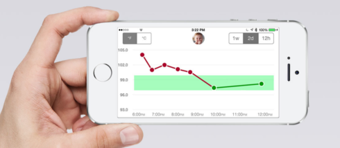Swaive Thermometer - Tracks temperature readings with the Swaive app