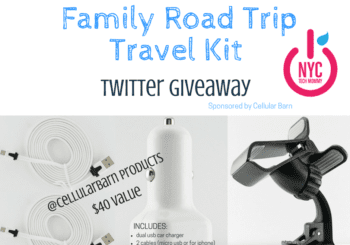 Family Road Trip Travel Kit - Twitter Giveaway - All the accessories you need to keep your family connected and fully charged on your next road trip!