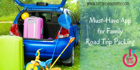Must-Have App for Family Road Trip Packing