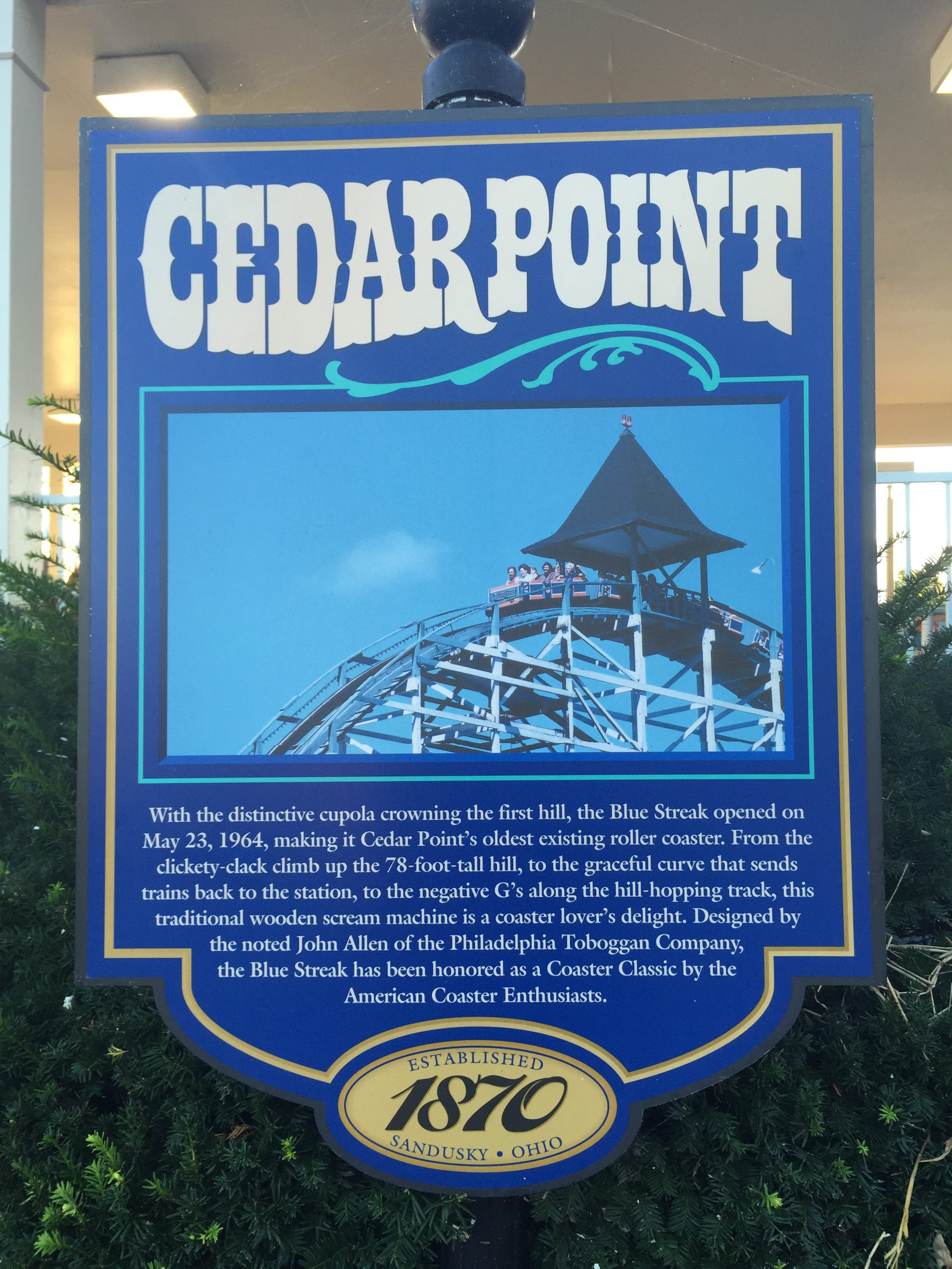 Cedar Point - Roller Coaster Capital of the World