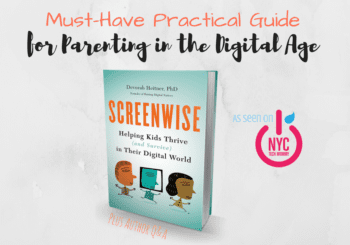 Are you raising a digital native? Screenwise, this must-have practical guide for parenting in the digital age will empower you to become a media mentor to your child. It includes practical tips to help you better communicate with your child about their tech use, while fostering good tech use habits for the entire family. Learn how you can raise better digital citizens in today's ever-changing digital world.
