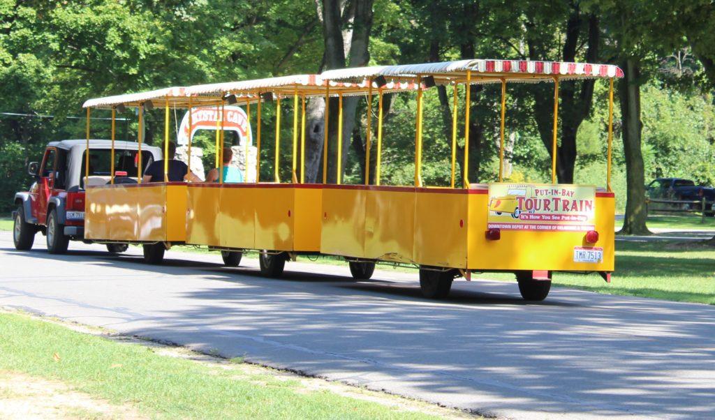 Put-In-Bay tour train
