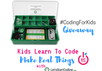 Kids learn to code with Let's Start Coding -- combine physical gadgets with real computer programming, build something fun while learning key concepts.
