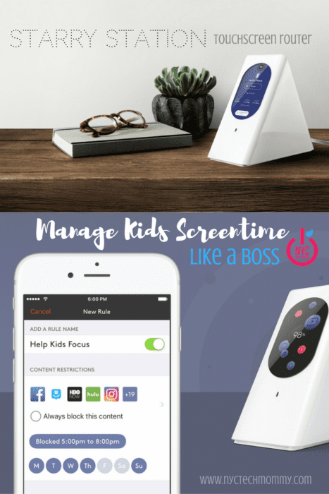 Manage Kids Screen Time Like a Boss - Learn how Starry Station's parental controls can helps you do just that!
