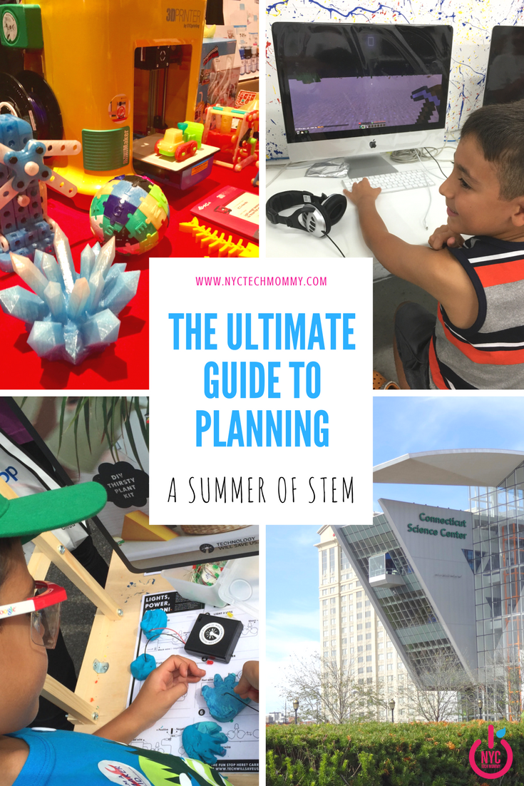 The Ultimate Guide to Planning a Summer of STEM - Here you'll find all the STEM resources you'll need to make this a summer of learning for your kids!