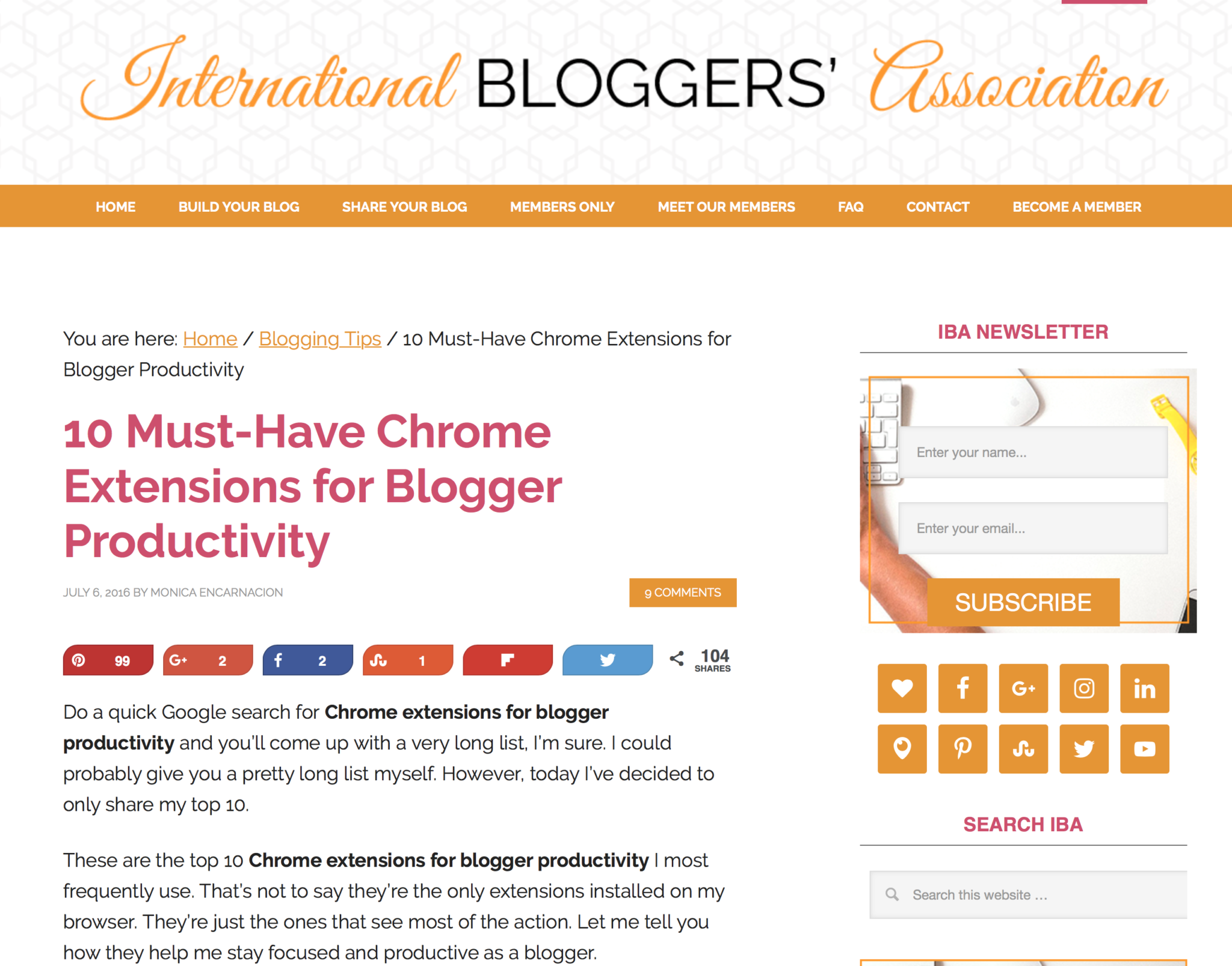 10 Must-Have Chrome Extensions for Blogger Productivity