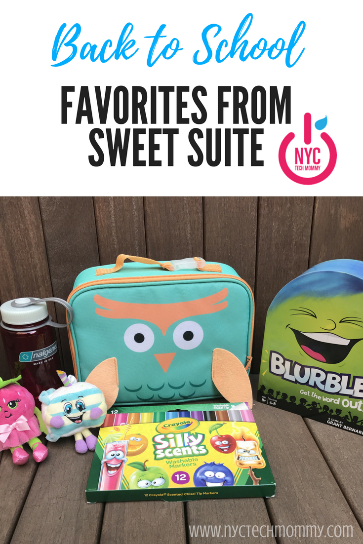 I'm happy that we can bring some fun to the new season with these fun back-to-school finds - as seem at #sweetsuite17
