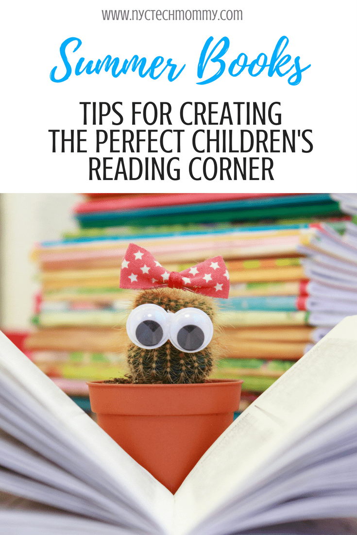 Check out these 4 tips to help you create the perfect children's reading corner.