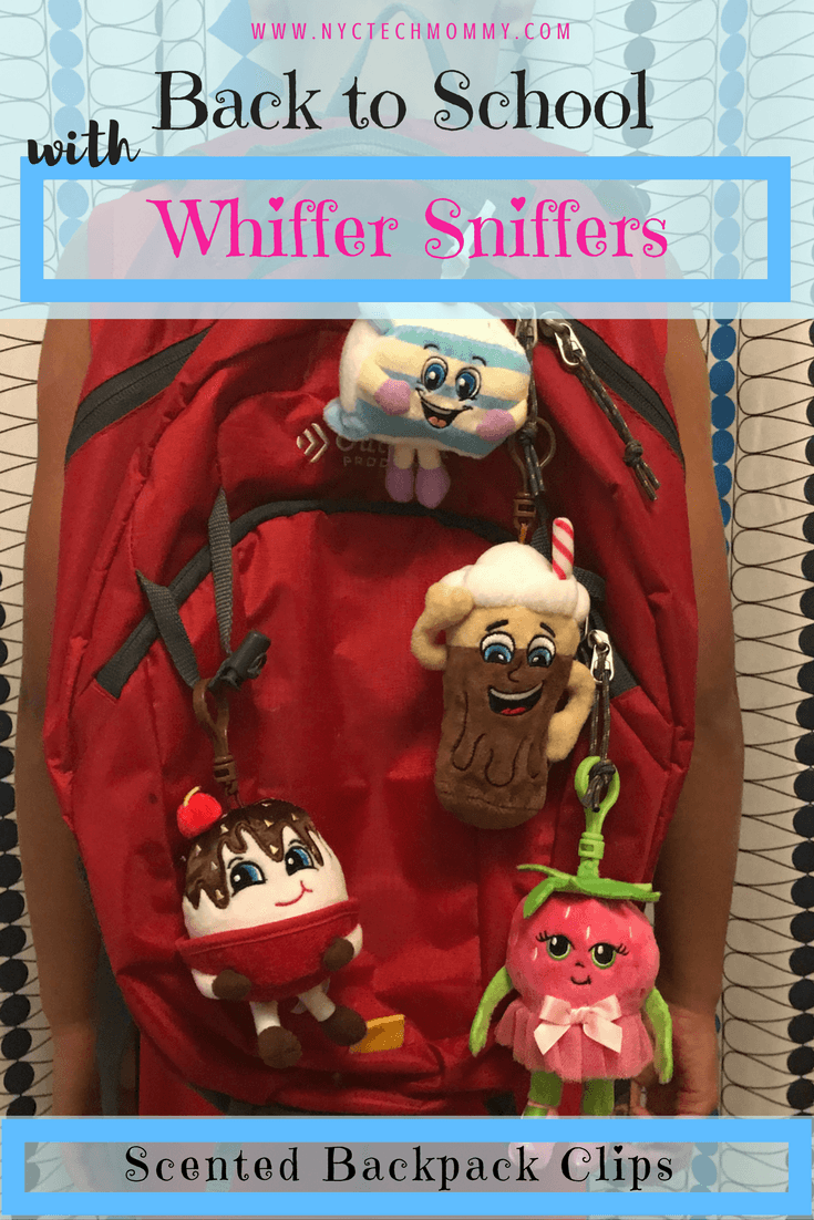 Your kids will want to collect these too! Whiffer Sniffers Series 5 is out now so go ahead and get ready for back to school with these adorable scented backpack clips.