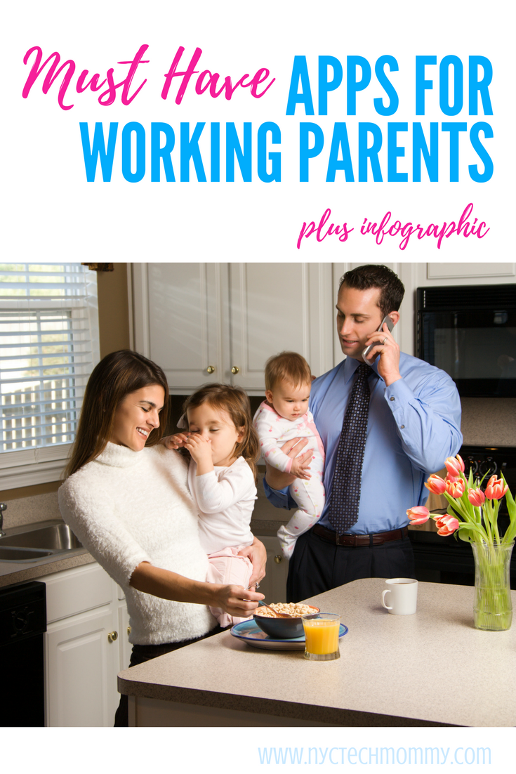 Check out this list of must have apps for working parents! Best part is that they're all free. #workingmom #appsformoms