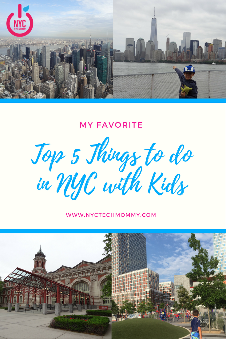 Top 5 favorite things to do in nyc with kids guaranteed for Places to explore in nyc