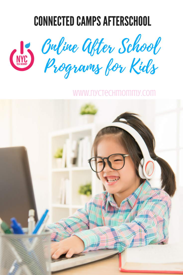 Connected Camps Afterschool - great online after school programs for kids #minecraft #kids #afterschool
