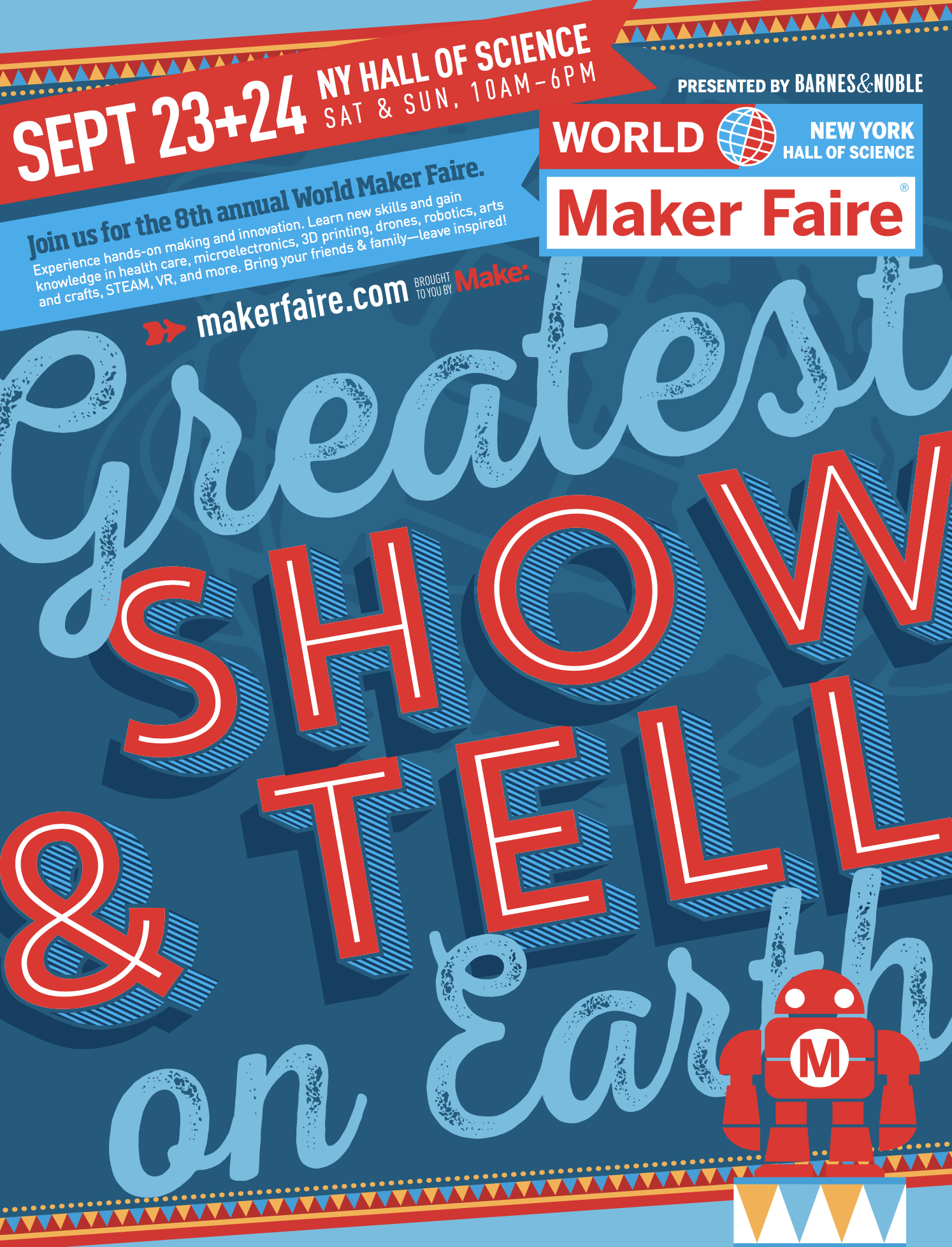 World Maker Faire is back in New York City and you won't believe what I saw! Come check it out at #NYSCI - #STEM, #STEAM, #Maker