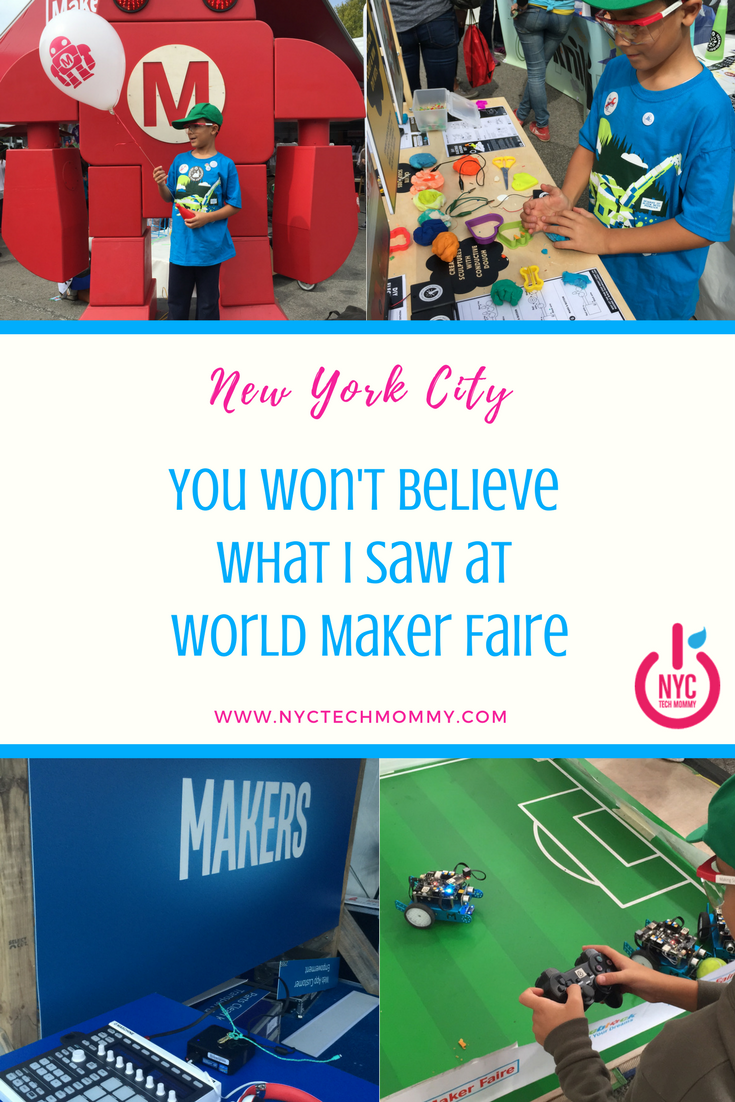 World Maker Faire is the Greatest Show (and Tell) on Earth! You won't believe what I saw.
