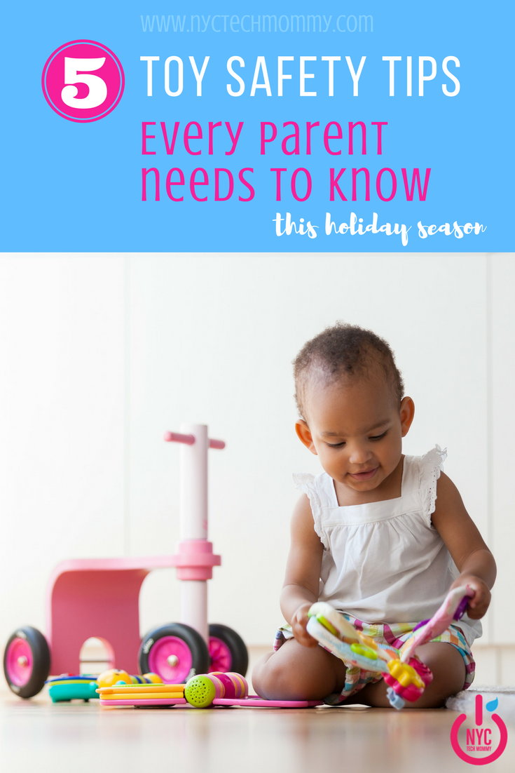 5 Toy Safety Tips Every Parent Needs to Know - Learn how to keep your kids safe this holiday season!