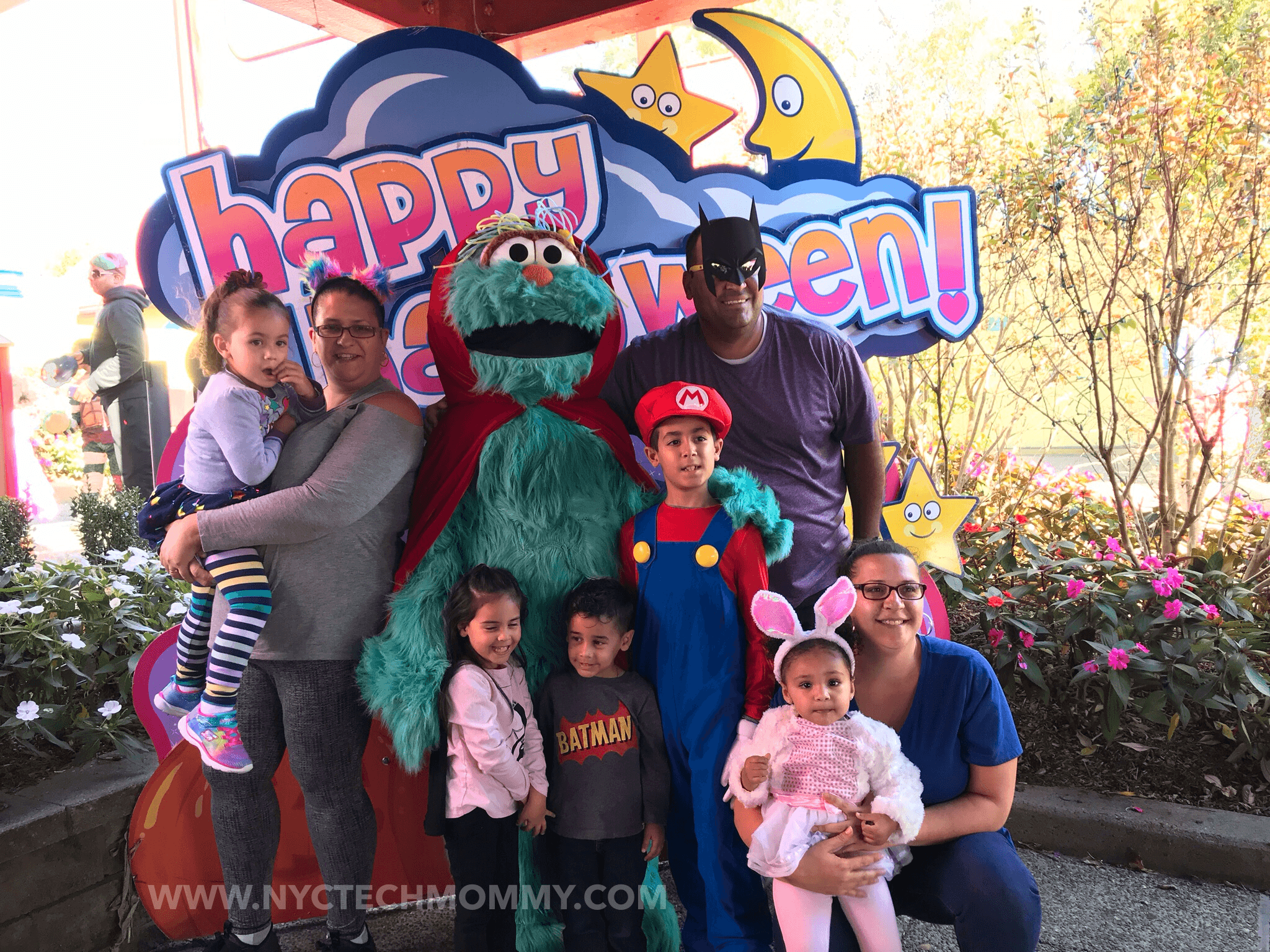 Halloween at Sesame Place