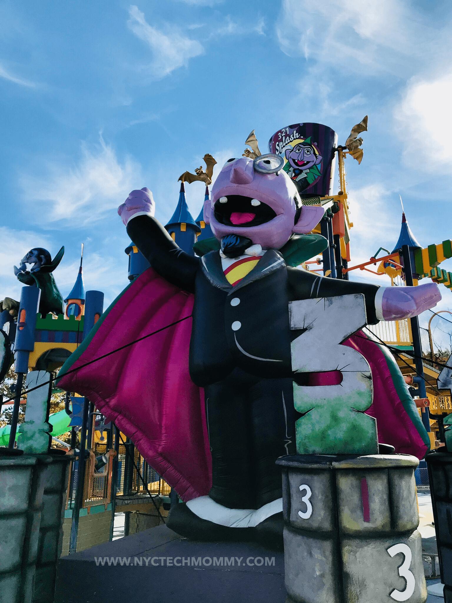 Count Splash Castle - Halloween at Sesame Place