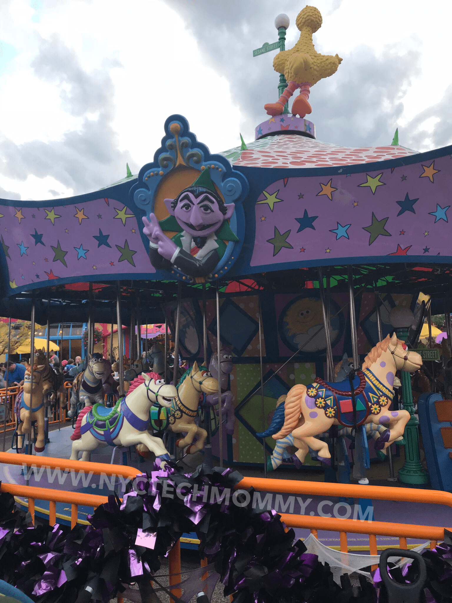 Sunny Days Carousel at Sesame Place