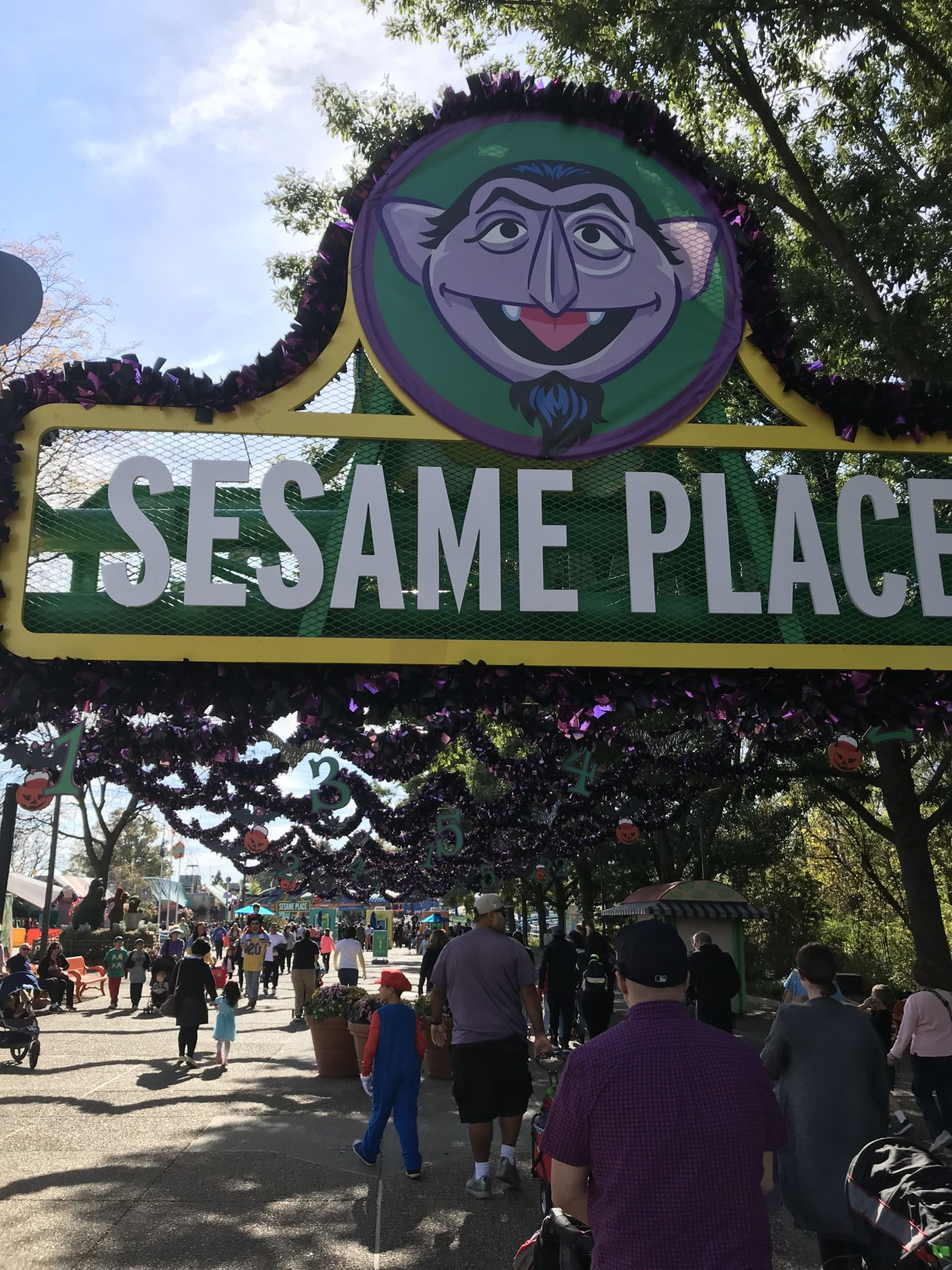 A Spooktacular Time & Tips For a Great Visit to Sesame Place - NYC ...
