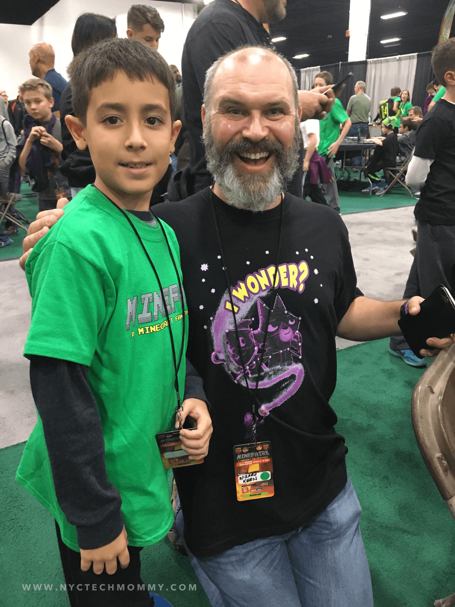 Meeting Wizard Keen at Minefaire