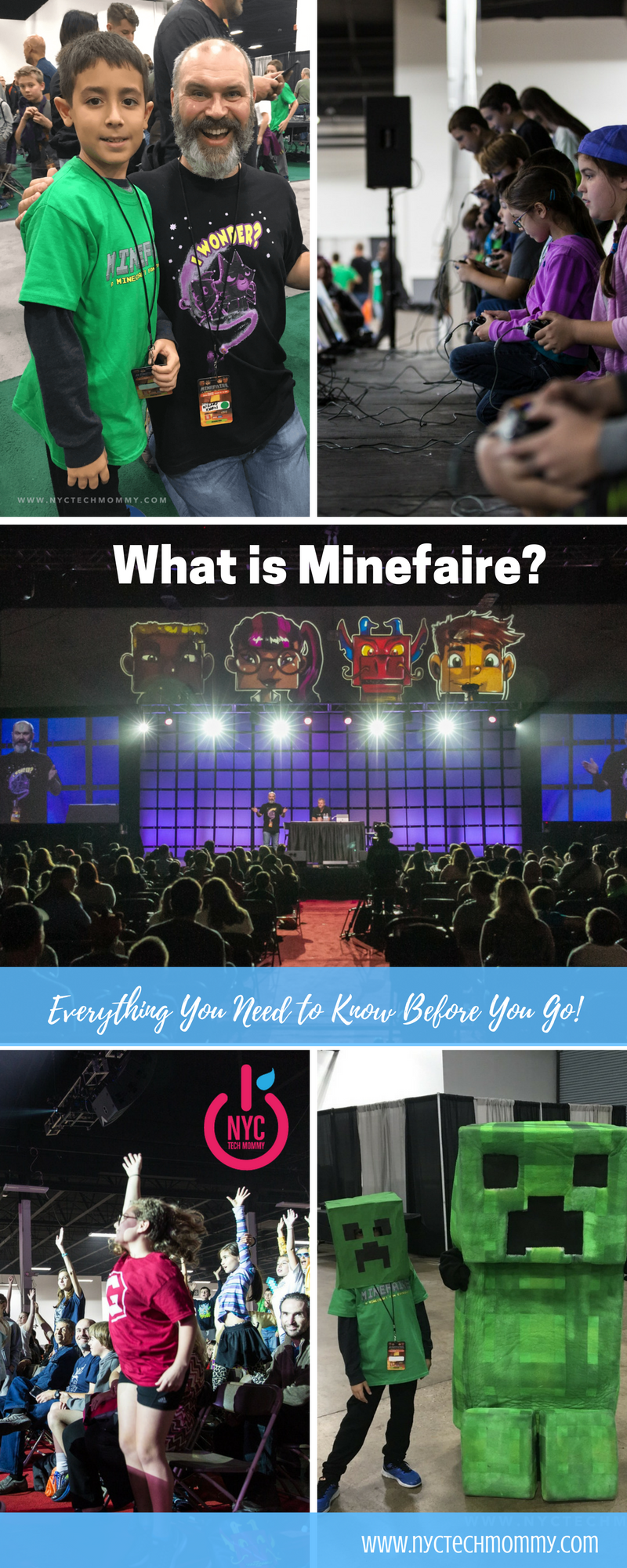 What is Minefaire? It's a massive Minecraft-inspired experience you won't want to miss -- learn everything you need to know before you go!