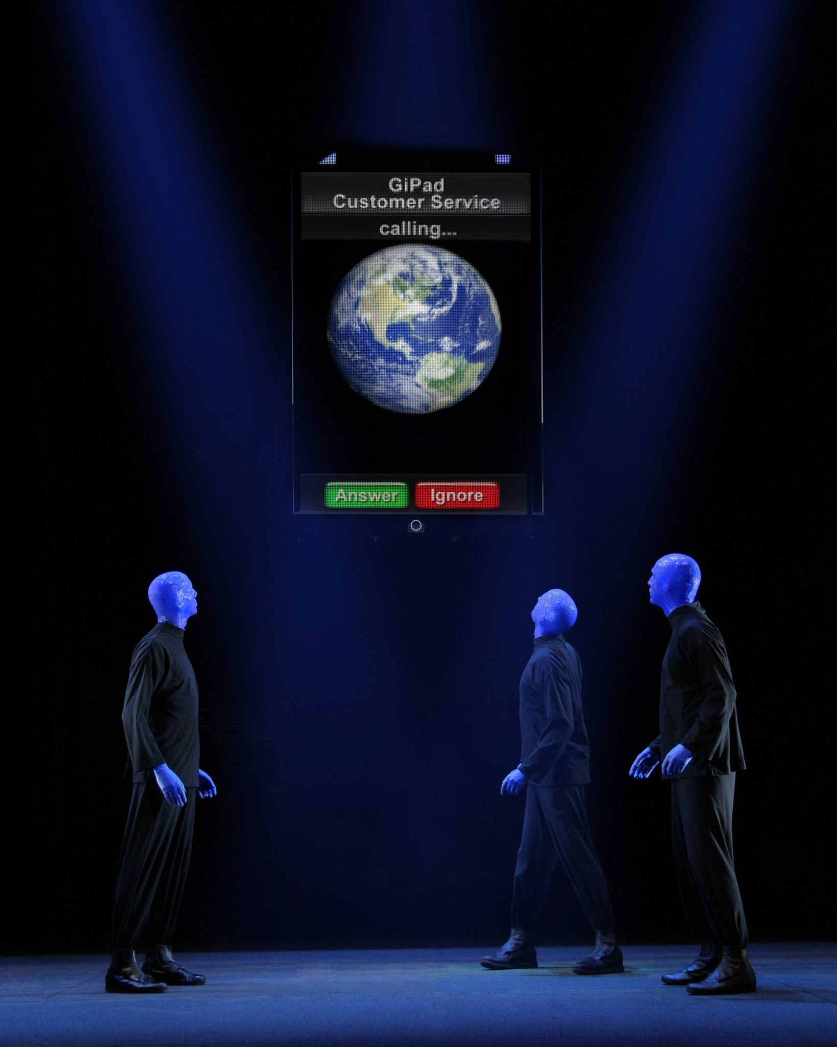 Blue Man Group Ticket Giveaway