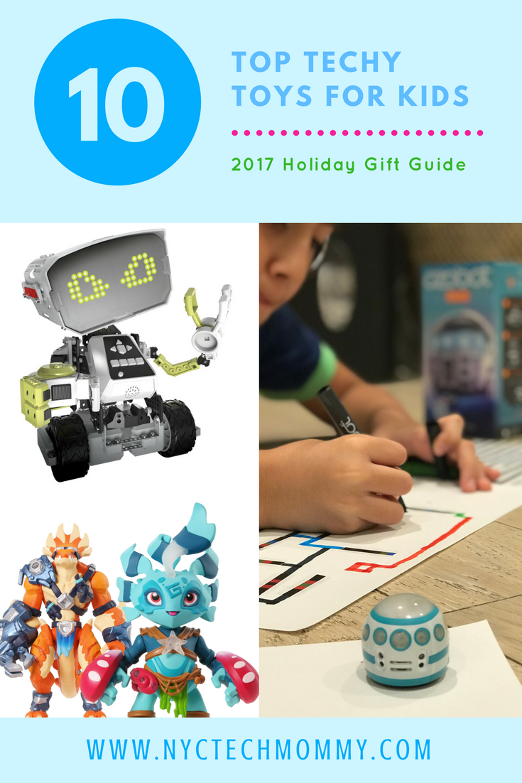 Here's our list of top techy toys for kids to help you find the best tech toy for your kid this holiday season.
