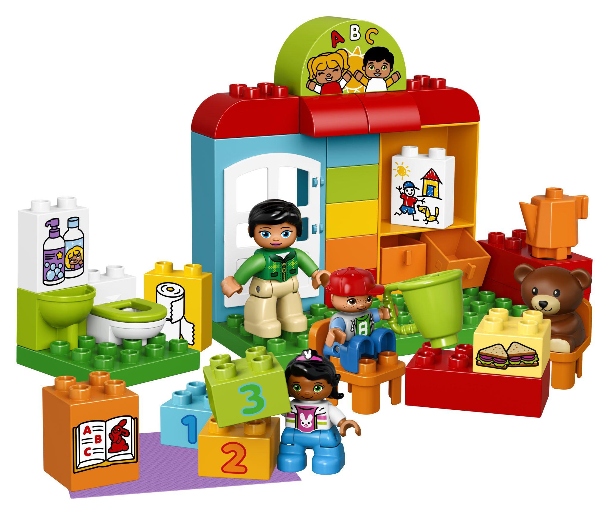 LEGO DUPLO My Town Preschool Set