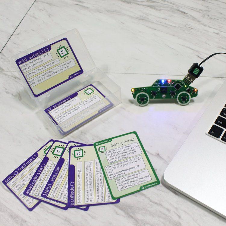 Let's Start Coding - Code Car