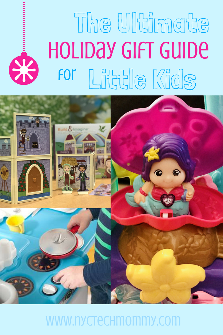 This Ultimate Holiday Gift Guide for Little Kids includes all the hotest and funnest toys for your little ones + stocking stuffer ideas!