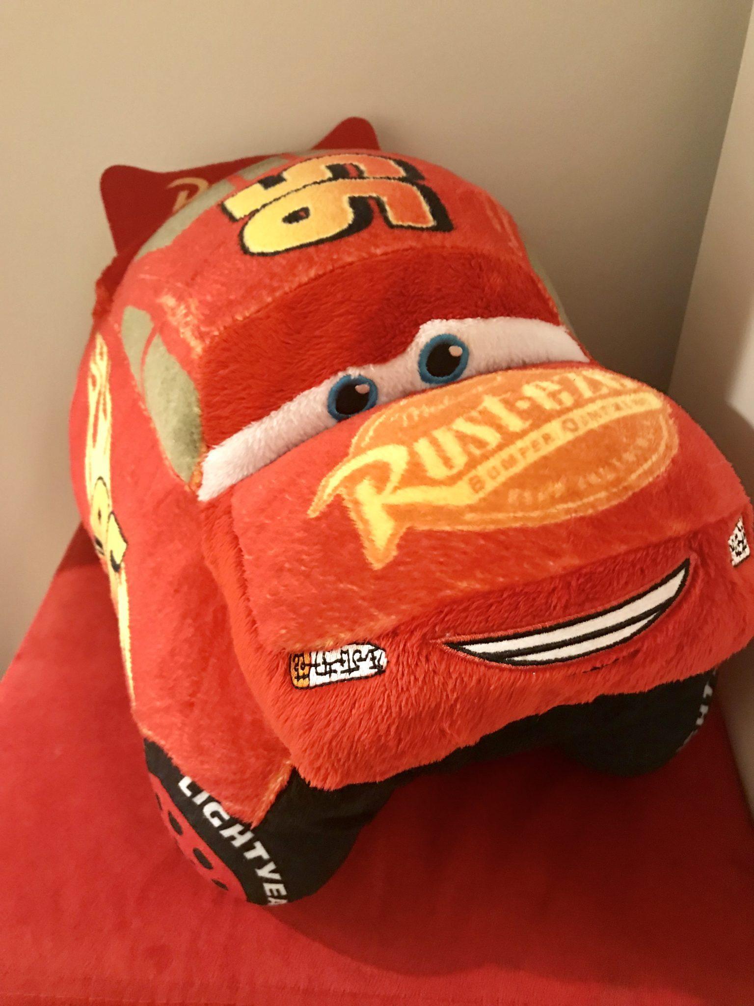 Lightning McQueens Pillow Pets