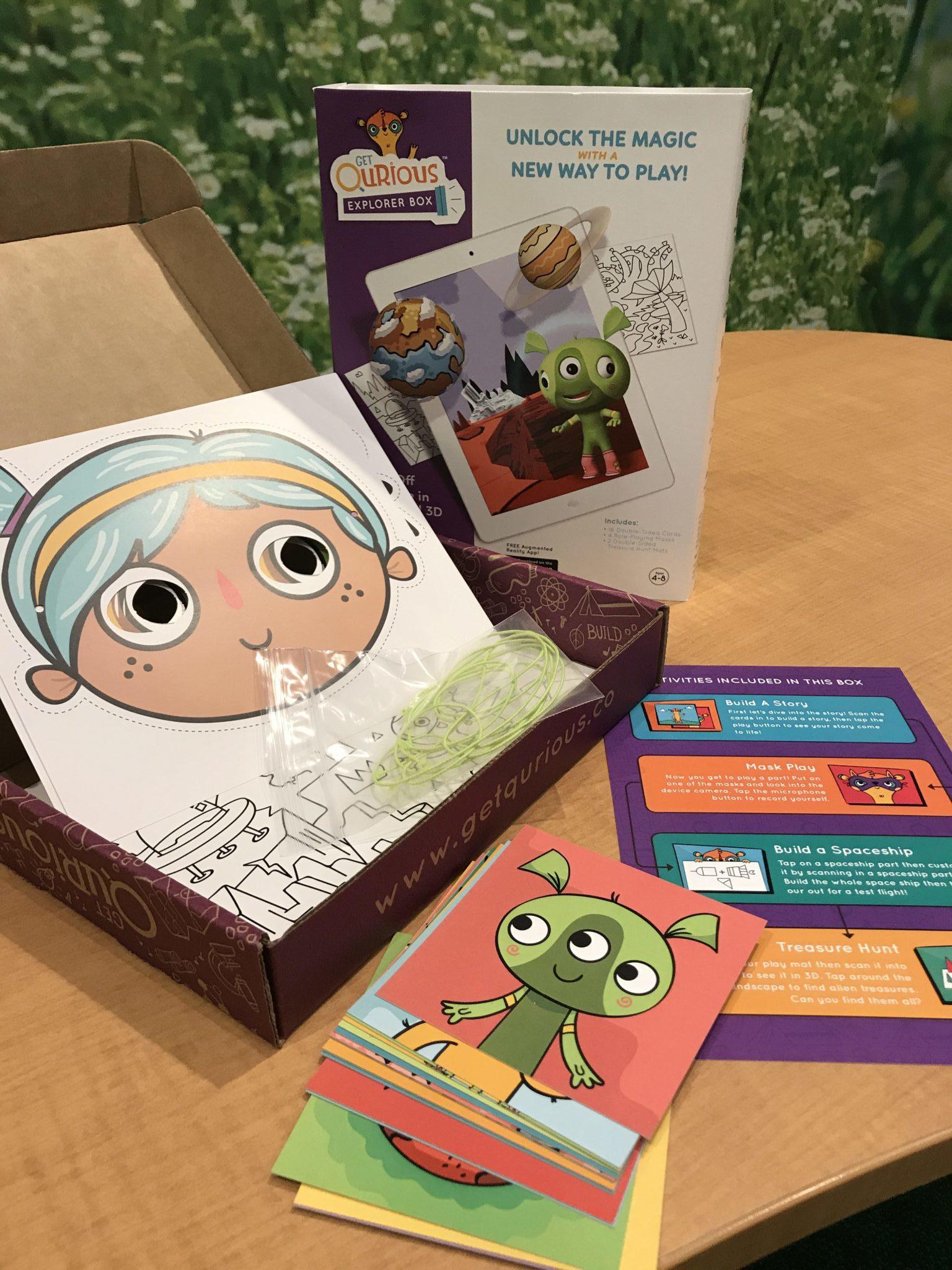 Get Qurious Science Explorer Box