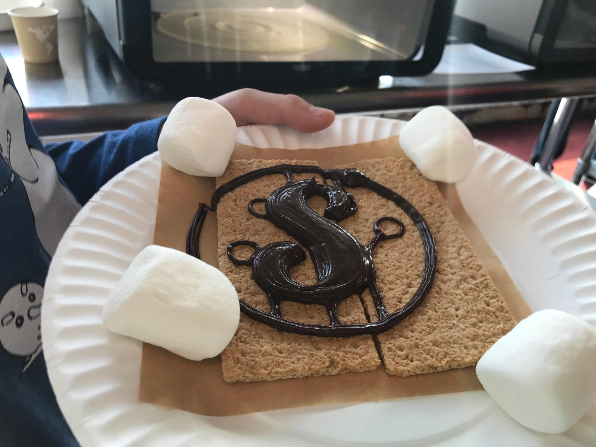 Sue's Tech Kitchen - 3D Printed S'mores