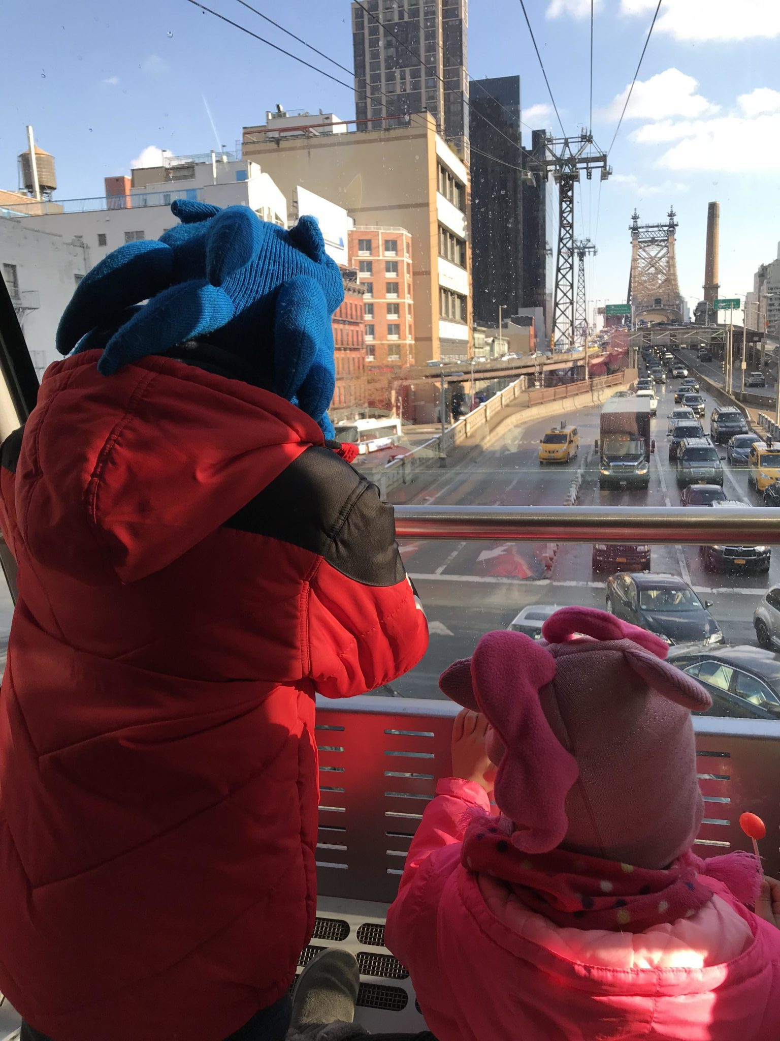 Going for a ride on the Roosevelt Island Tram