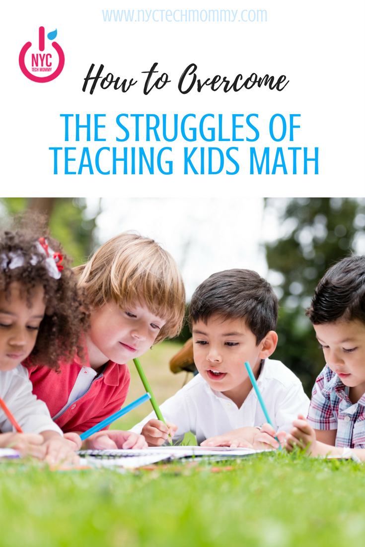 Here you'll find good ideas on how to overcome the struggles of teaching kids math.