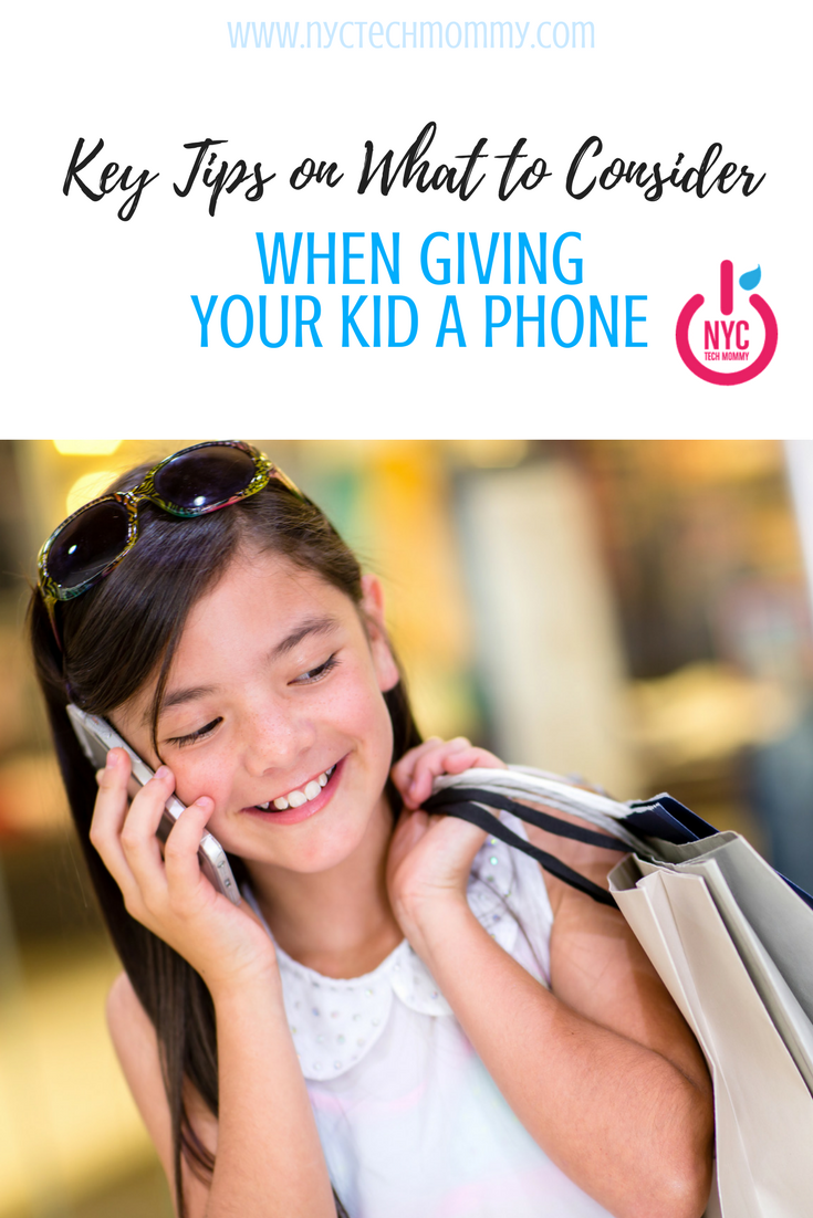 Here are some key tips on what to consider when giving your kid a phone.
