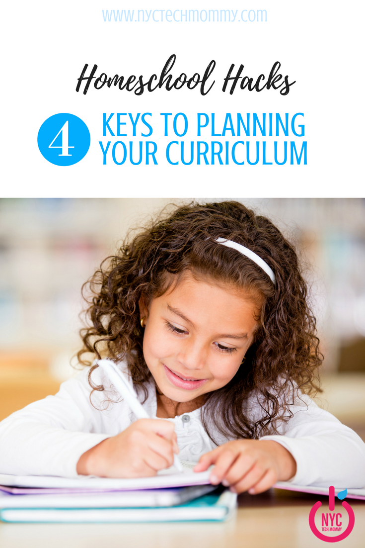 Homeschool Hacks -- Here are tips to helping you with planning your curriculum