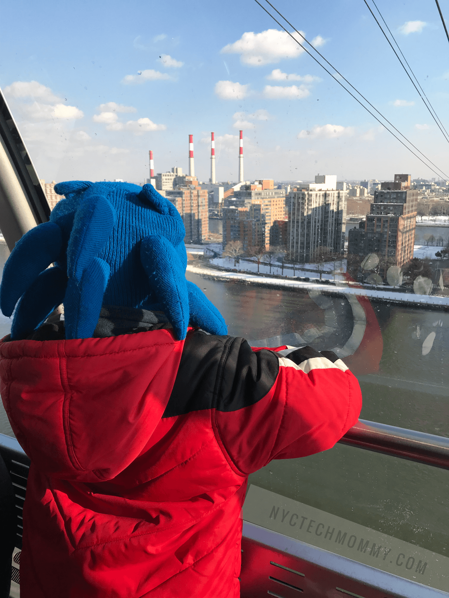 Taking the Tram to Roosevelt Island