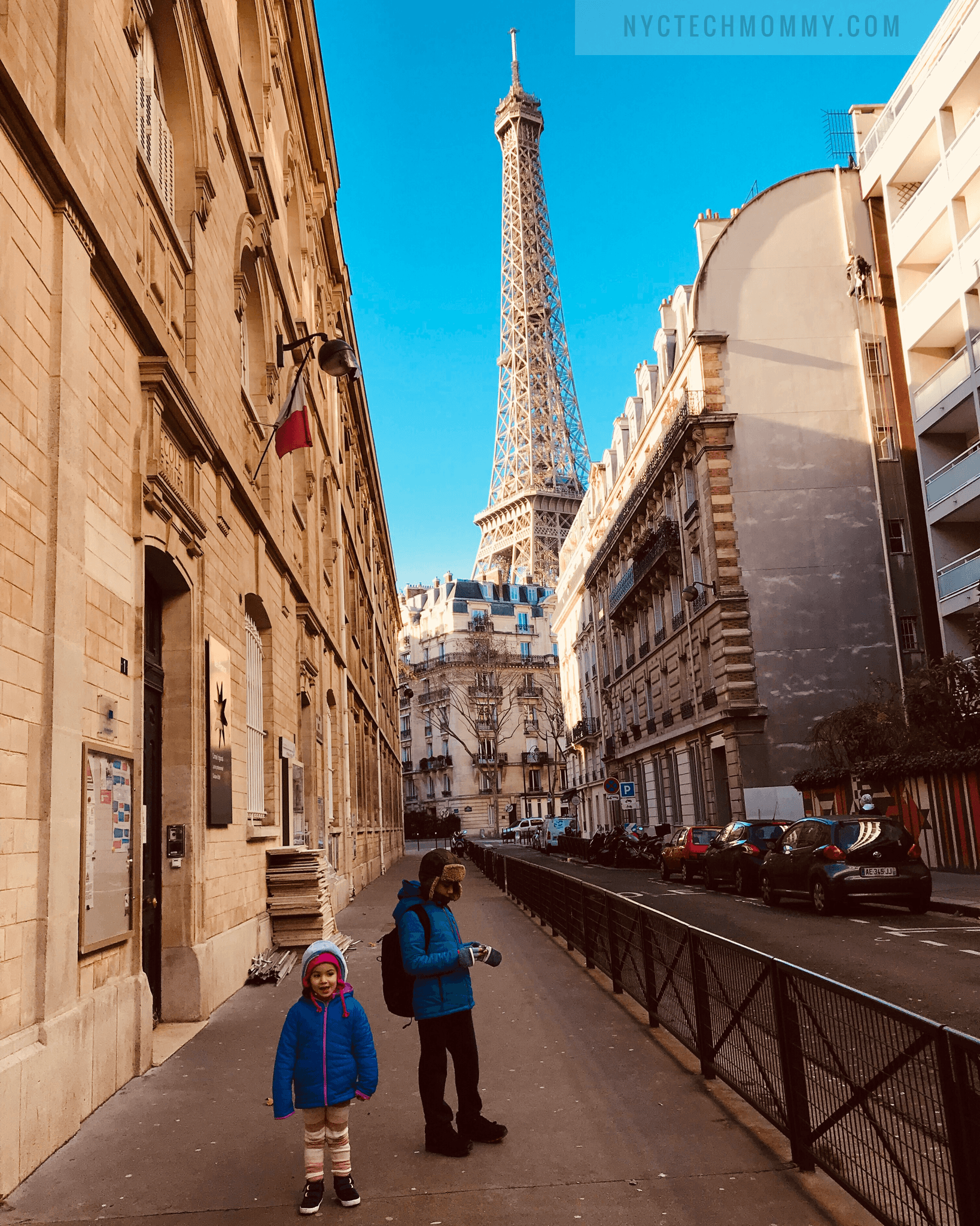 Visiting Paris with kids
